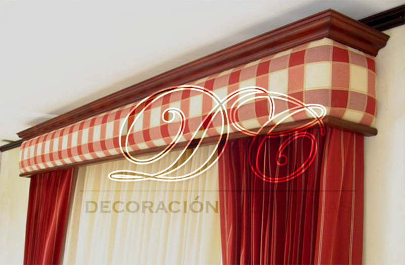 D c decoraci n y cortinas cenefas - Cortinas y decoracion ...